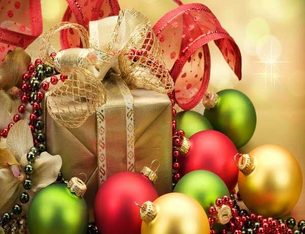 عکس با کیفیت از هدایای کریسمس
