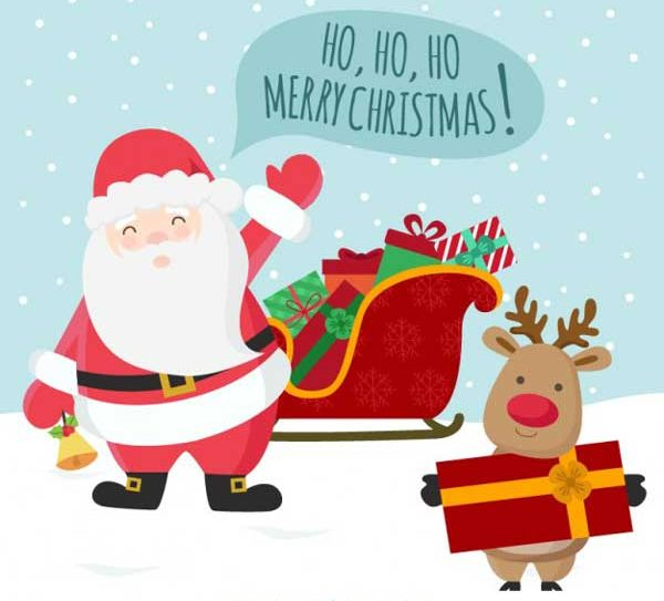 بکگراند خفن از بابا نوئل