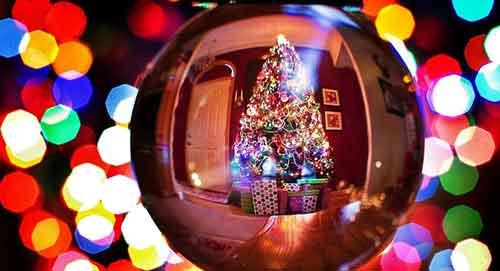 بکگراند زیبا و جدید برای کریسمس