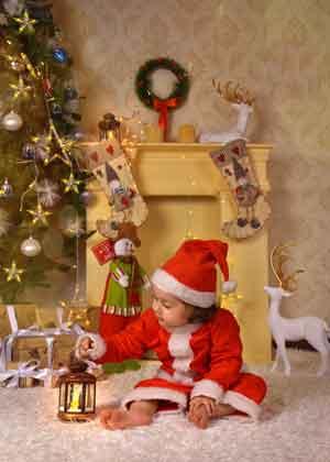 عکس پروفایل کودکانه کریسمس