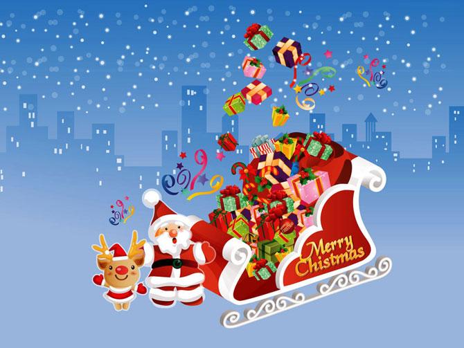 عکس بکگراند کریسمس - اس ام اس تبریک کریسمس