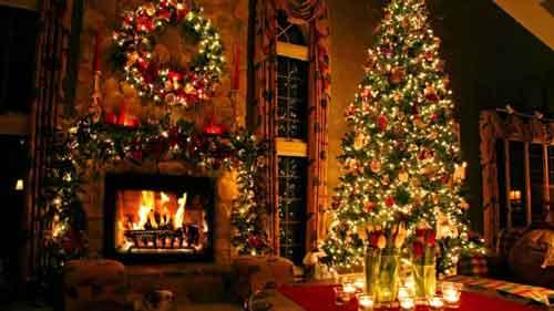 بکگراند زیبا و رویایی کریسمس