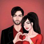 عکس پروفایل فانتزی دخترونه + عکس نوشته کارتونی جدید