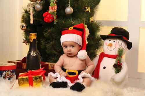 عکس های کودکانه کریسمسی