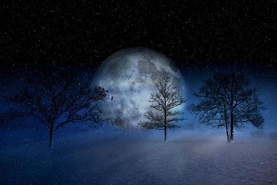 تصاویر فانتزی از فصل زمستان