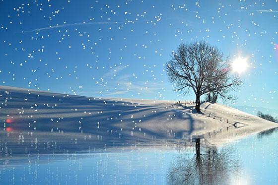 دانلود عکس فانتزی و رویایی زمستانی