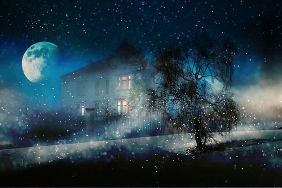 عکس فانتزی زمستان برفی