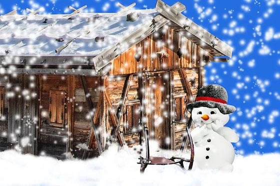 عکس نقاشی های فانتزی زمستانی