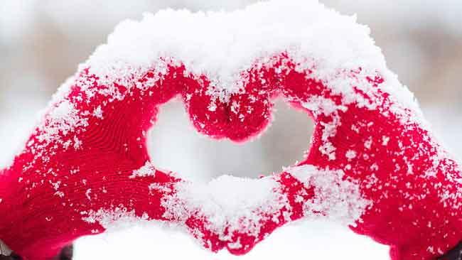 متن و پیامک عاشقانه زمستانی