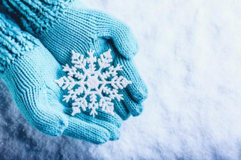 پیامک برای روز های زمستانی