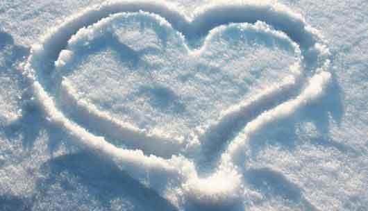 متن زیبای عاشقانه روز برفی