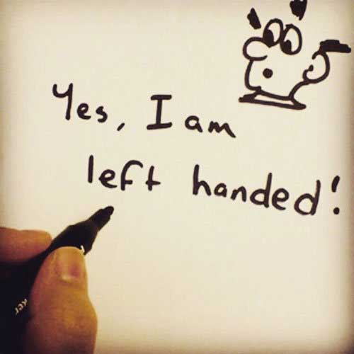 Happy left handed day