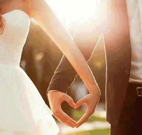 عکس نوشته رمانتیک و شیک برای عروس و داماد