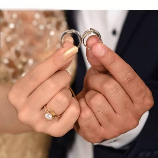 عکس پروفایل حلقه ازدواج برای زوج های خوشبخت