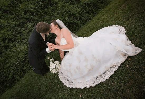 عکس دونفره عروس و داماد