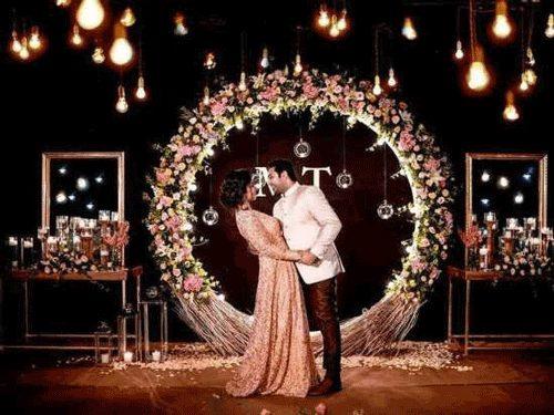 تصویر زیبا و جذاب عروس و داماد