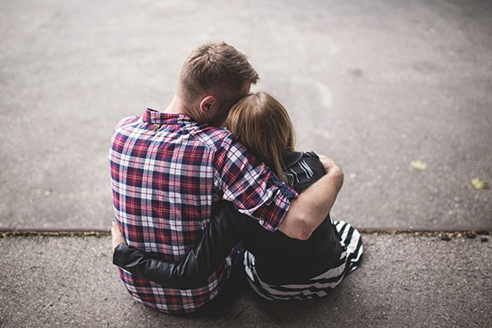 عکس پروفایل عاشقانه دونفره با متن رومانتیک