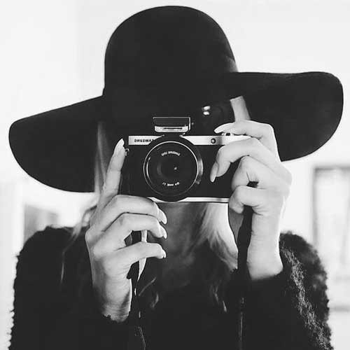 تصویر از عکس پروفایل دختر عکاس + ژست عکاسان 2020