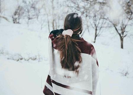پروفایل زمستان دخترانه