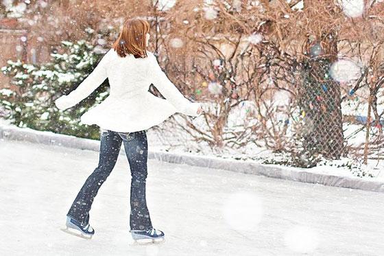 عکس های زمستانی دختر