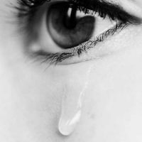 عکس پروفایل چشم گریان دخترونه + جملات تنهایی و جدایی