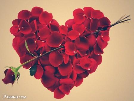 تصویر از عکس پروفایل گل رز قرمز عاشقانه + جملات عاشقانه خاص