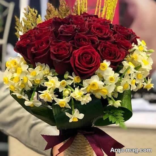 تصویر از عکس پروفایل گل نرگس زیبا + جملات عاشقانه خاص