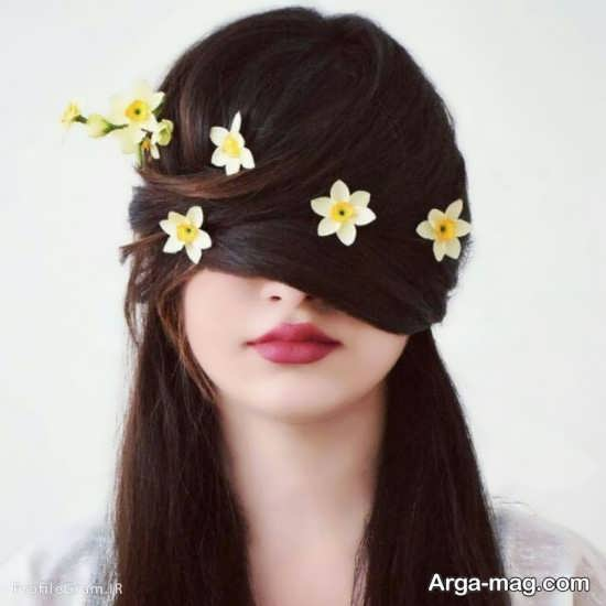 تصویر از عکس پروفایل گل نرگس + جملات عاشقانه زیبا