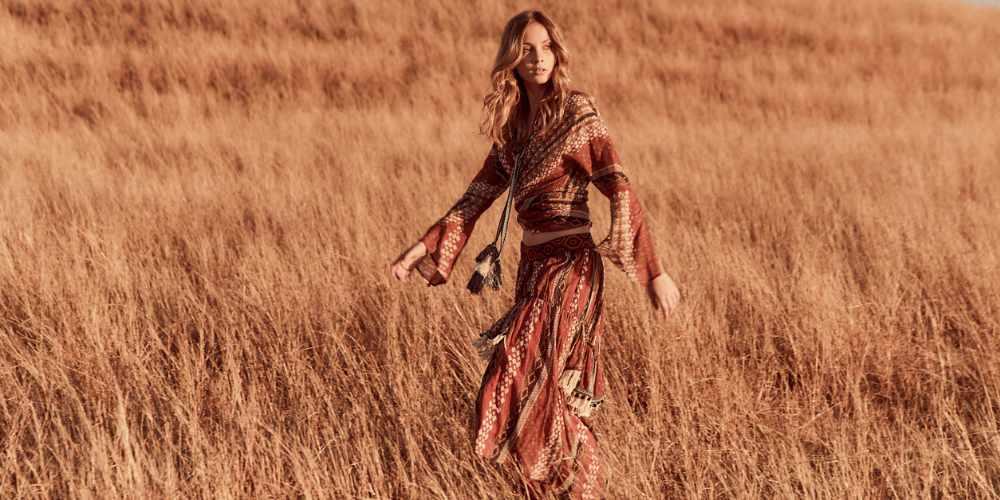 girl Wheat field figure 4