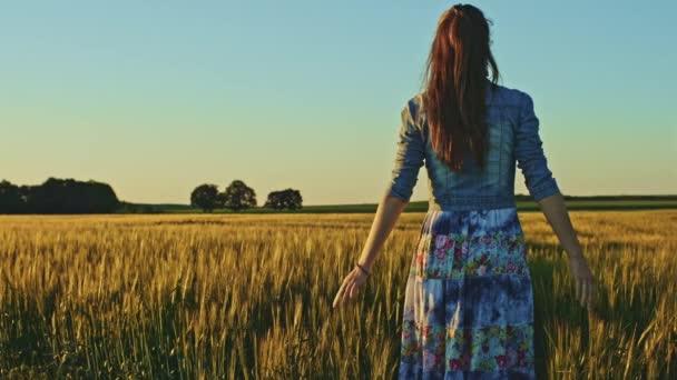 girl Wheat field figure 6