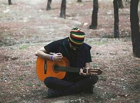 پروفایل و عکس نوشته گیتار 3