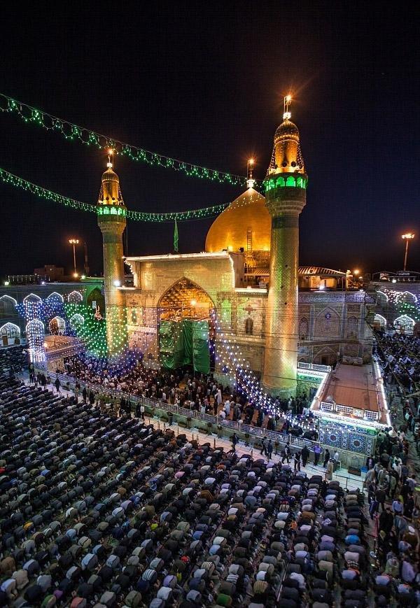 تصویر از عکس پروفایل حرم امام علی (ع) + جملات پندآموز از امام علی