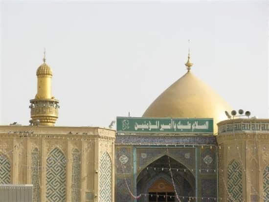Photos shrine of Imam Ali 24