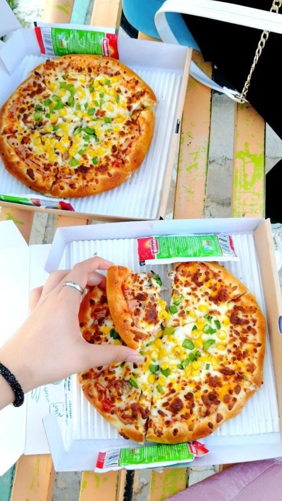 اینستاگرام پیتزا فنسی پرند ,
