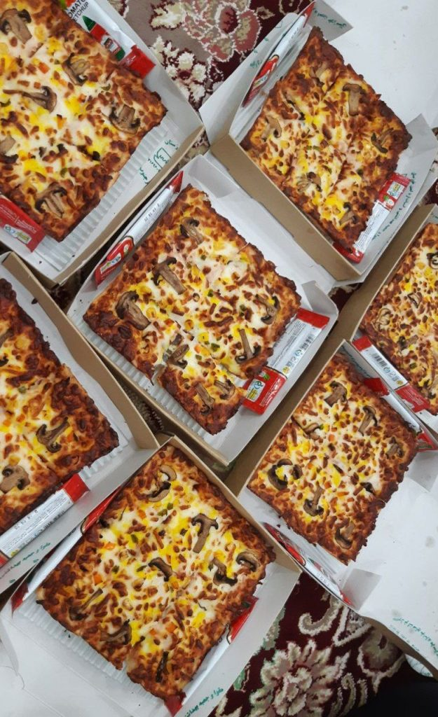 اینستاگرام کیک پیتزا ,