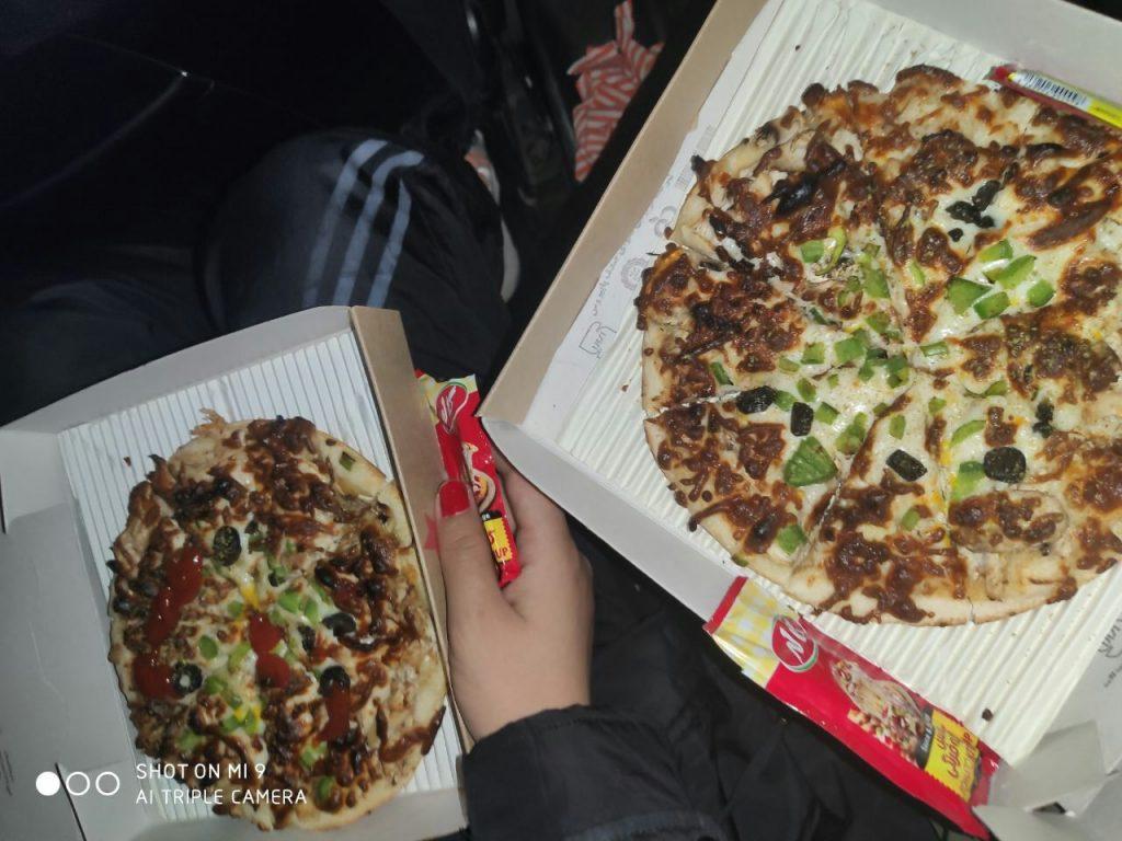 پیتزا تابه ای اینستاگرام ,