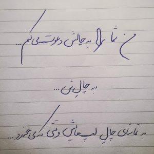 نوشته با خودکار 12