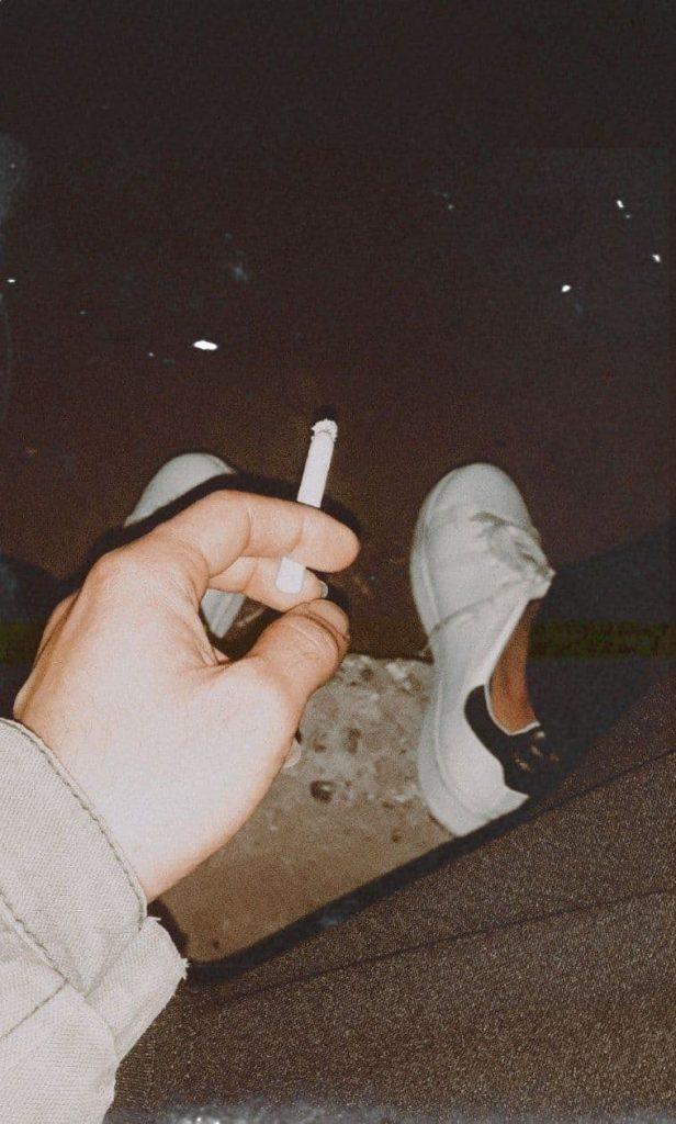 استوری سیگار کشیدن فیک دخترونه