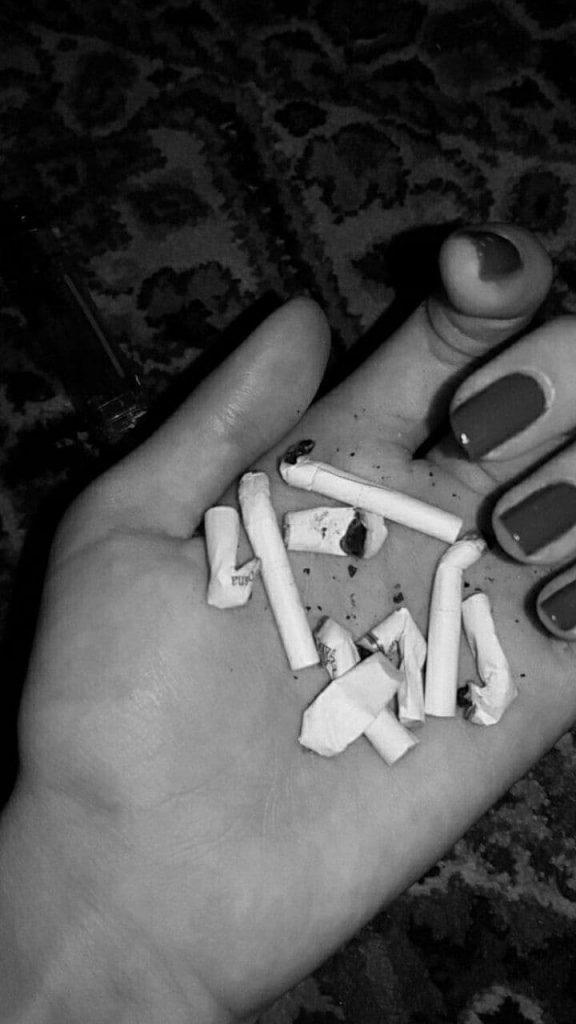 استوری سیگار کشیدن فیک دخترونه ,