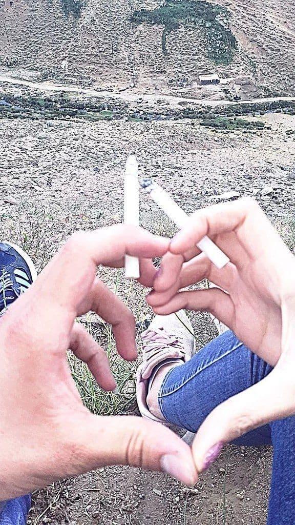 عکس پروفایل سیگار,