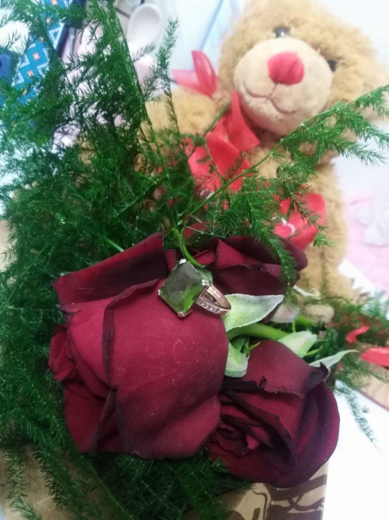عکس اتوری فیک خرس کرمی روشن برای ولنتاین